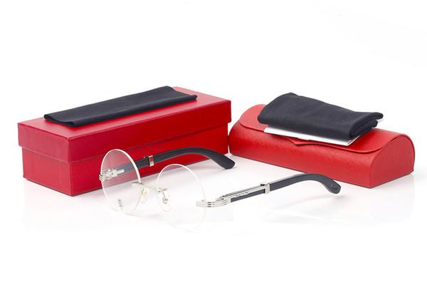 Retro Round Gold Frame Eyeglasses Vogue Vintage Framed Sunglasses Clear Lens Oculus Optical Eyeware Men Fashion Accessories Shades