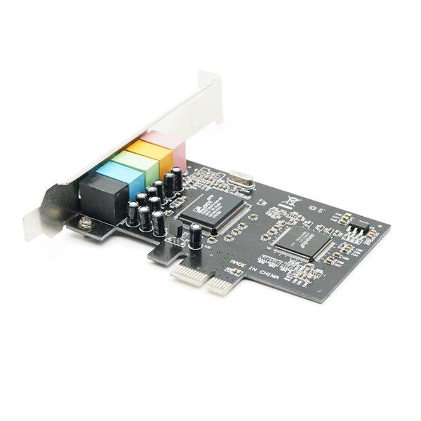 New PCI Express PCI-E 5.1ch 6channels CMI8738 Audio Sound Card