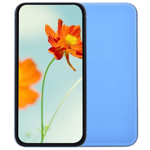 Blue Goophone XR V4 Clone 1 GB 16 GB 3G WCDMA Quad Core MTK6580 Android 7.0 6.1 pollici Tutto schermo 8MP Fotocamera Face ID Smartphone Rosso Giallo Nero