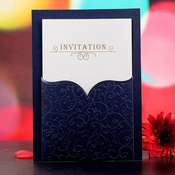 Compre 30 Unids Lote Tarjeta De Invitación De Reunión De Negocios Corporativos Con Sobre Invitaciones De Cóctel Invitaciones De Boda Personalizadas
