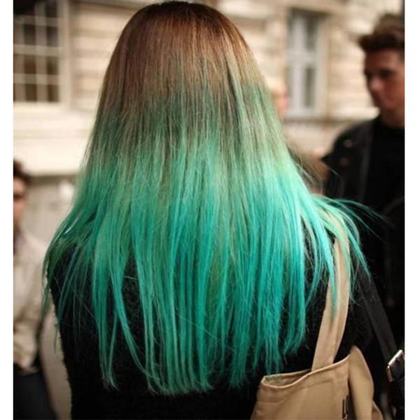Paquetes recto brasileño de la Virgen del pelo del color 1B / verde de Malasia 100% 10-18inch tono bruto humana armadura del pelo Dos Ombre