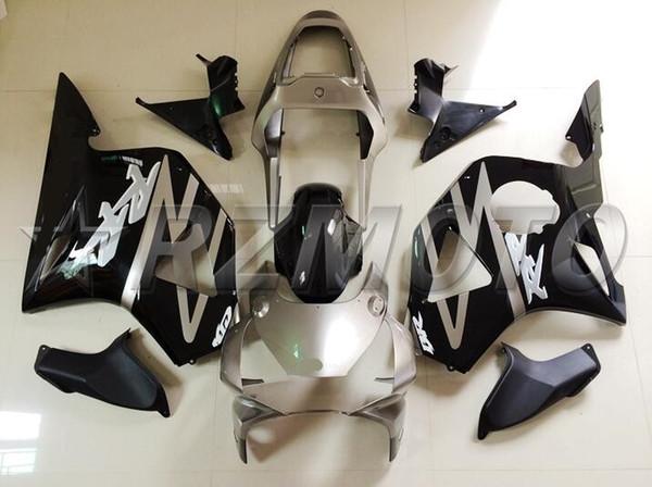 3Gifts New ABS Motorcycle fairings Kit Fit for HONDA CBR954RR CBR900RR 954 02 03 CBR954 2002 2003 bodywork set Fairing custom black gray
