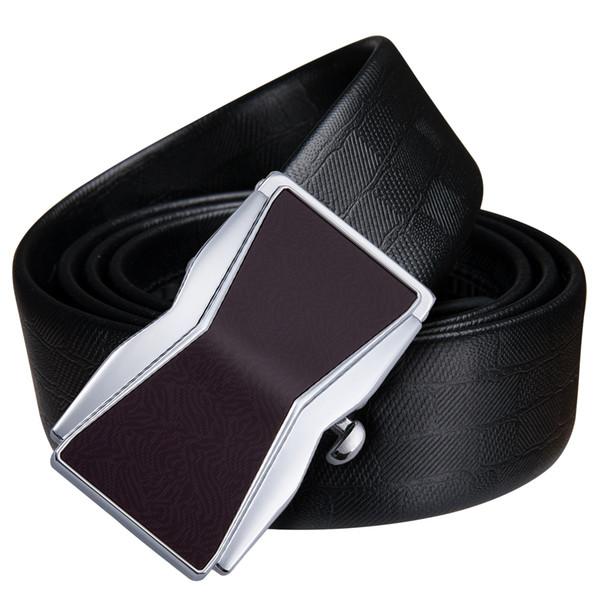 Hi-Tie5 types Best Formal Designer Luxury Belts for Men Formal Belt Buckle Fashion Brown Leather Belts for Men Business Offfice Belt