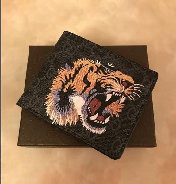 Monedero cabeza X9 G Negro tigre