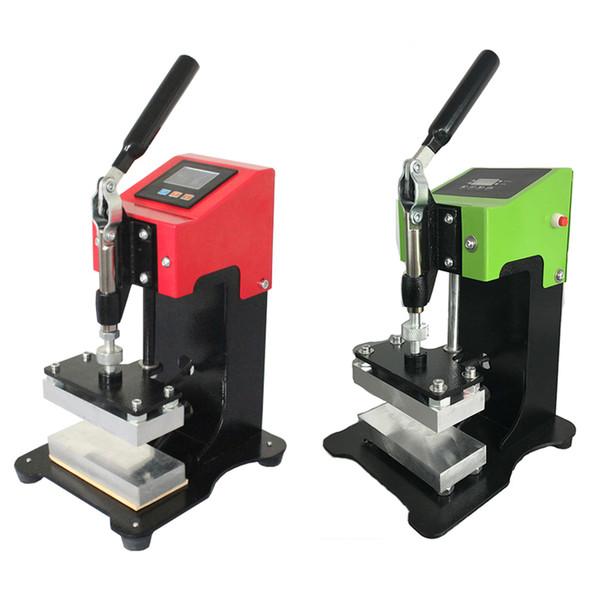 800W Rosin stampa in macchina di calore manuale AP1903 Olio Cera Estrazione strumento Vape cartucce a cristalli liquidi Digital Controller Fahrenheit Celsius Changeable