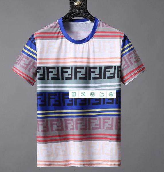 Yaz yeni high-end erkek marka t-shirt moda kısa sleve snaeke baskı moda t gömlek erkek Tops Tees # [] = 204