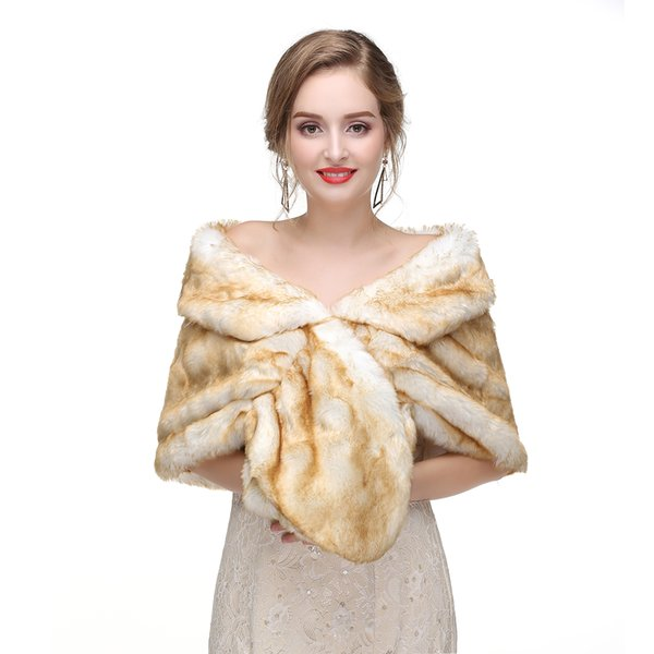 3f4c6ec57d Fur Vest New Rushed Women Raccoon Dog Fur 2018 Luxury Wintertime Christmas Faux  Fur Shawl Wrap