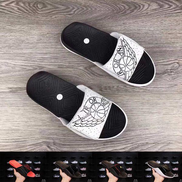 Fashion Luxury Men Designer Sandals Classic Black White Beach Summer Holiday Jet Set Slippers Designer Slides Sneakers Size 36-45