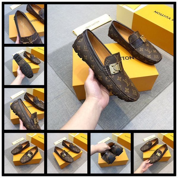 2019 Designer European Handmade Genuine Leather Men Brown Monk Strap Formal Shoes Office Business Wedding Suit Dress Loafers