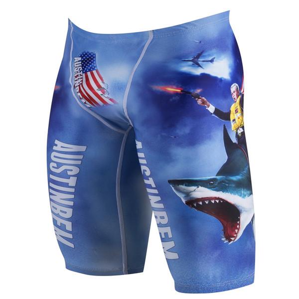Maillots de bain pour hommes Créateur de mode plage Shorts de bain Marque Série américaine Troncs de bain à cinq branches Six Styles Taille S-L