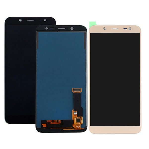 Einpassung per Samsung J6 2018 SM-J600M J600F J600G SM-J600M / DS LCD Touch Screen Digitizer Super AMOLED