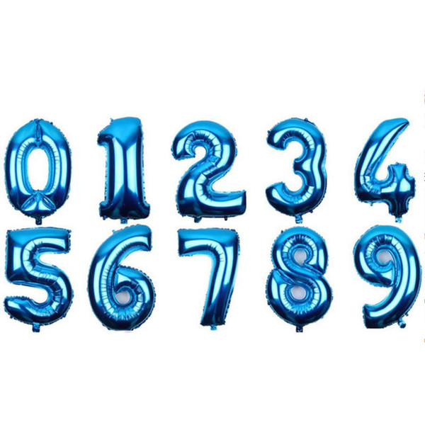 Random blue number