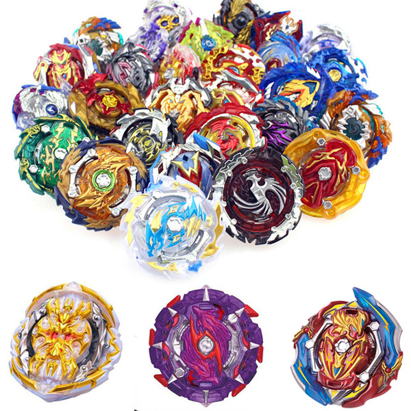 best selling 4D Beyblades Bey blades 100 Patterns Toys Toupie Beyblade Without Launcher and Box Burst Arena Metal Fusion God Spinning Bey Blade kids Toys