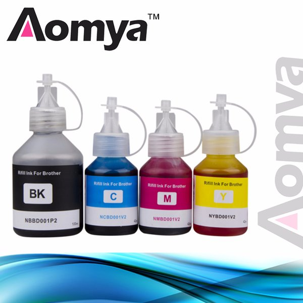 4 Pcs Refill Dye Ink Special Ink Kit For Brother DCP-T500W DCP-T700W DCP-T800W DCPT300 DCPT500W DCPT700W DCPT800W Printer