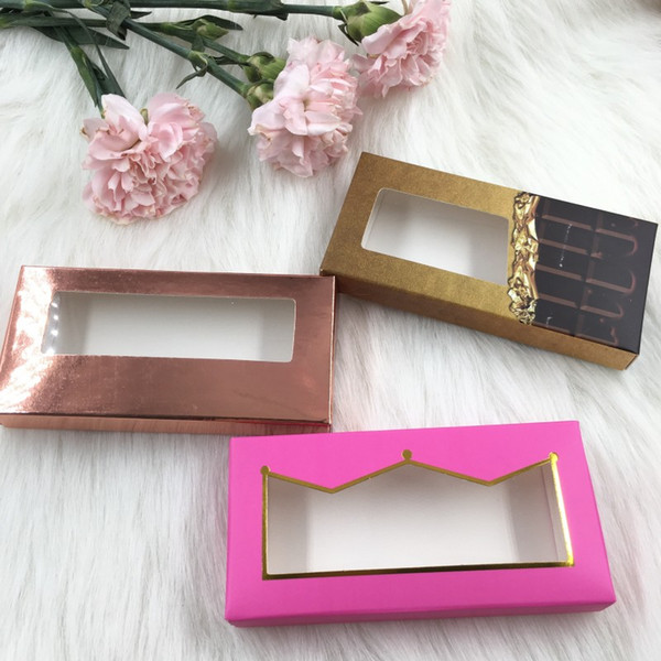 Custom Private Logo Soft Paper Empty Eyelashes Packaging with Reasonable Price Free Lashes Tray Insert FDshine
