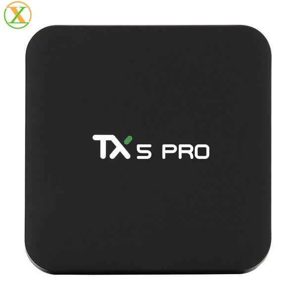 2019 TX5 MAX 4K DDR4 da 4 GB 32 GB Android 8.1 Amlogic S905X2 Quad Core Android TV
