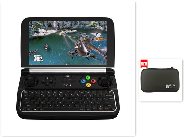 Hot Sale GPD Win 2 6 inch Mini PC Gaming Laptop Intel Core m3-7Y30 Win10 System Handheld Game Console 8GB/256GB Mini Pocket PC With Bag