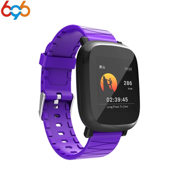 696 M30 Inteligente Pulseira de 1.3 polegada Tela Colorida Pulseira Inteligente Relógio Esportivo Pressão Arterial de Oxigênio No Sangue Monitor de Freqüência Cardíaca