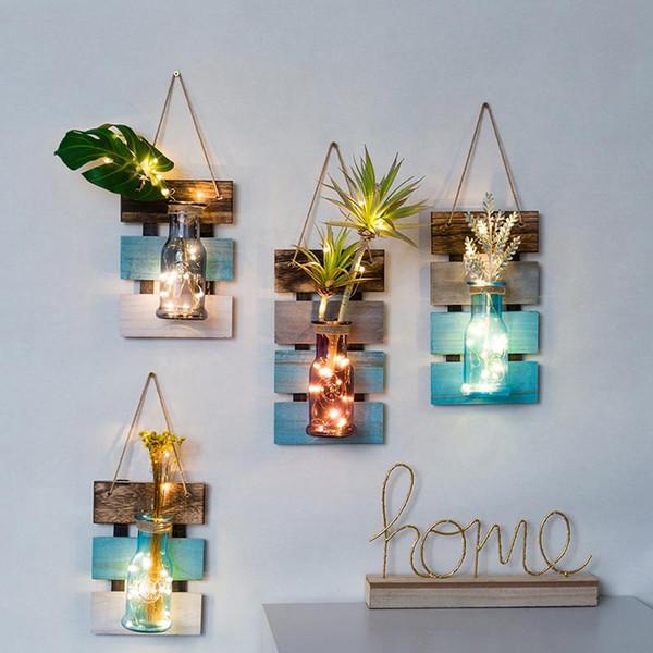 Großhandel Ydroponic Vase Home Decoration Zimmer Schlafzimmer Wohnzimmer  Kreative Wandgestaltung Anhänger Innenwandgemälde Von Walkerstreet, $48.84  ...