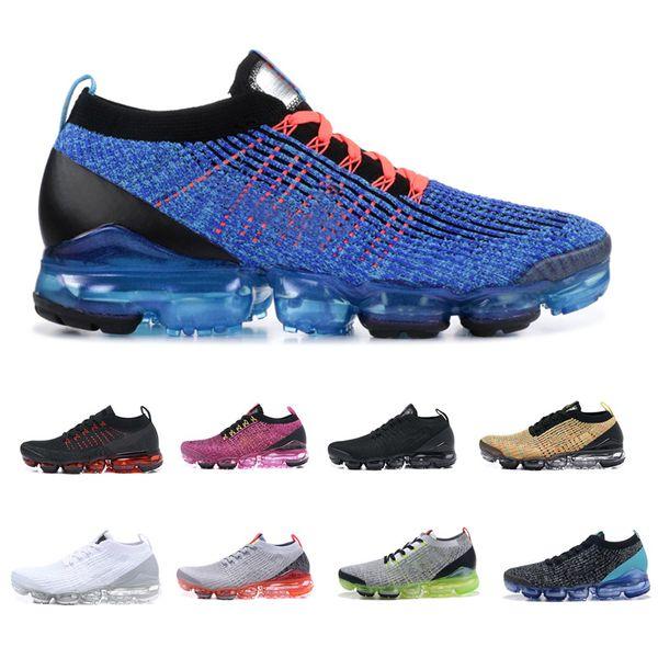 2019 Çin Yeni Yıl 2 Erkekler Koşu Ayakkabı Mavi Fury Flaş Crimson Beyaz Saf Platin Kadınlar Kutusu Ile Üçlü Siyah 3.0 Tasarımcı Spor Sneaker