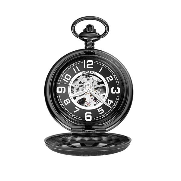 black Pocket Watch 1