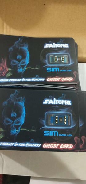2019 Original Ghost Unlock iphone XS MAX XR ios12.2 12.X iphonexs SIM card sprint verizon AT&T AU Softbank 4G LTE XR gevey onesim free ship