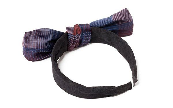 Hair Band Korea Headdress is Acted the Role of Sweet Forest Female Contracted Cloth Art Hair band bowknot Clip defence slippery