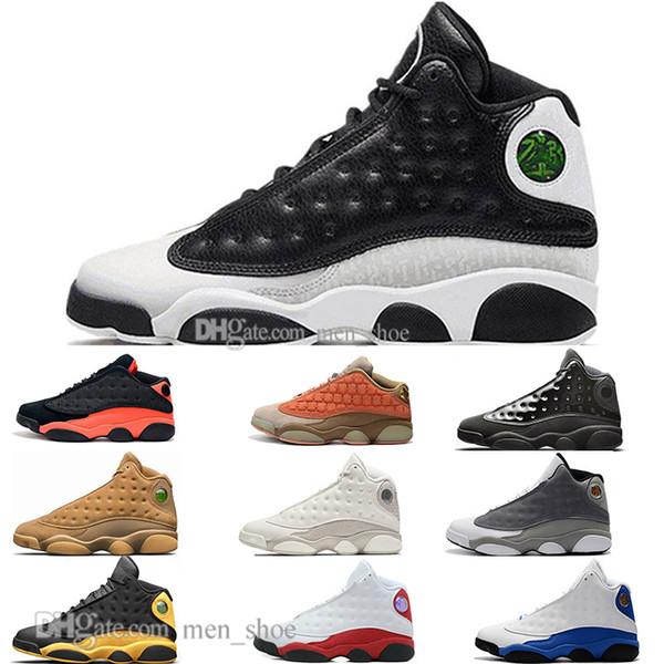Barato Nuevo 13 13 s Gorra y bata de terracota Blush para hombre Zapatillas de baloncesto Chicago Negro Infrarrojo Pedernales Hombres Bred Sport Sport Sneaker Designer EE.