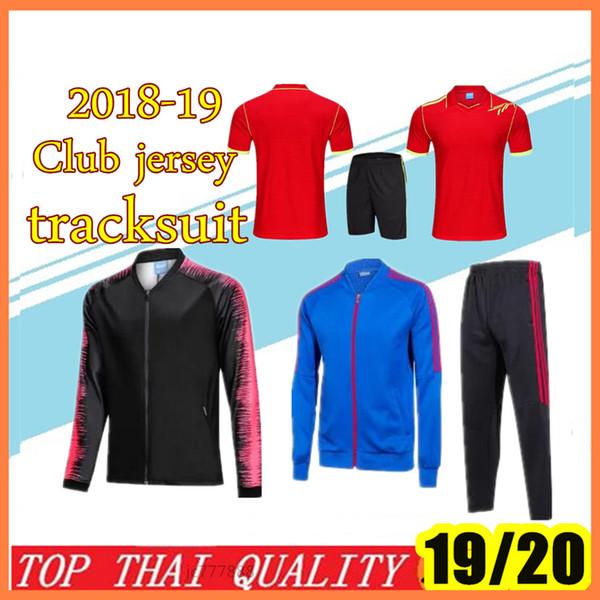 nouvelle veste de football 2019/20 18/19 maillot de foot maillon de commande de club pour toute équipe