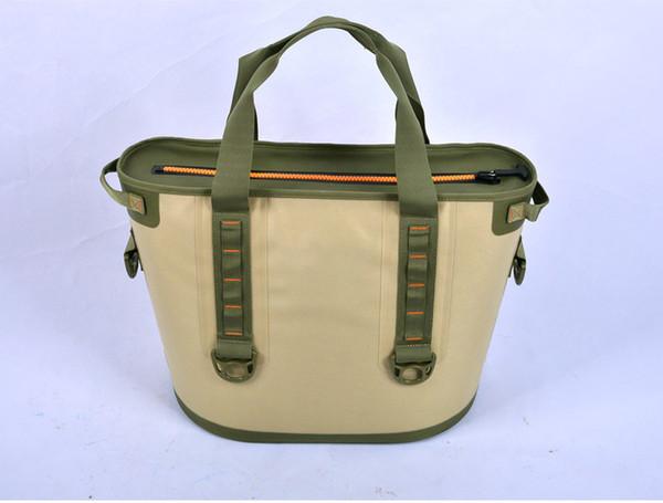 30L Große isolierte Kühler   Wasserdichte Kühler-Tragetasche Lunch Bags für Camping im Freien, Strandtag oder tragbare Reisekühler