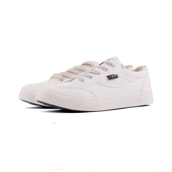 Fashion Trend Personality Wild Cool Spring And Autumn New Best Selling Canvas Shoes Low To Help Small White Shoes jooyoo