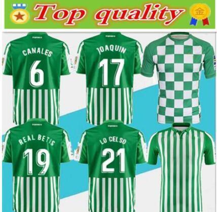 En kaliteli 2019 2020 Betis club futbol forması 19 20 JOAQUIN ILLARRA Futbol Formaları erkek açık kazak