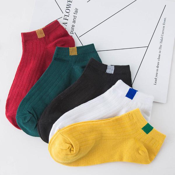 10 paires de chaussettes de cheville en coton pour femme printemps été bas chaussettes coupe-bas confortables chaussettes respirantes maille bateau court