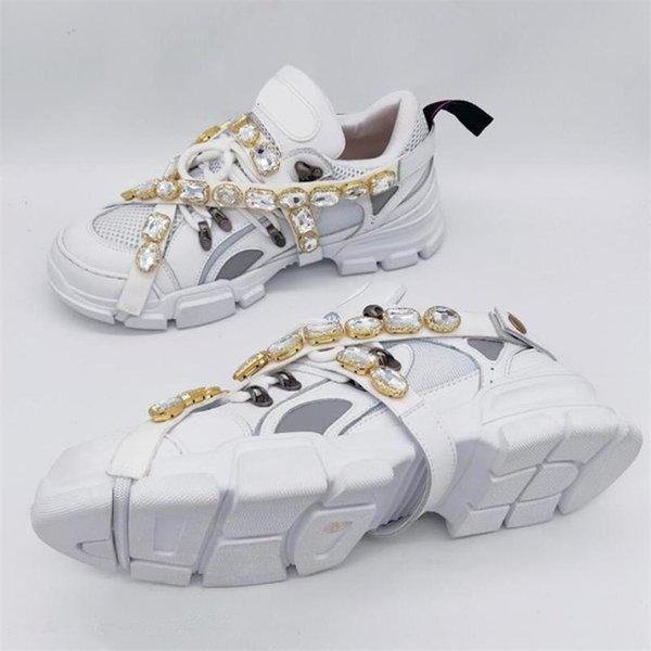 Compre 2019 Auténticas Zapatillas Flashtrek Con Cristales Extraíbles Zapatos Casuales Hombres Mujeres Escalada De Montaña Con Cordones Botas De