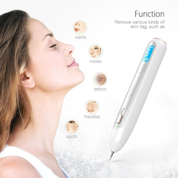 Portable Wireless Laser Freckle Removal Machine Skin Mole Dark Spot Remover for Wart Tag Tattoo Removal Pen Salon Face Beauty
