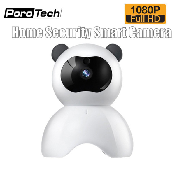 Niedlichen Panda Smart IP-Kamera PD10 HD 1080P Wifi Wireless Indoor Indoor Überwachung PTZ Kamera Baby Monitor Zwei-Wege-Audio
