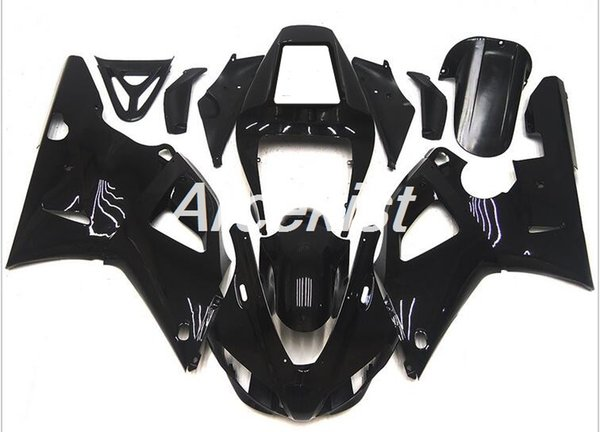 New style ABS Compression Mold motorcycle Fairings Kits Fit For YAMAHA YZF-R1-1000 1998-1999 98 99 Fairing bodywork set custom black cool