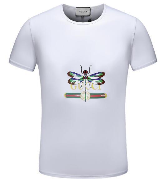 Erkek T-Shirt Basit Mektup Baskı Aziz T-Shirt Kısa Kollu Sokak Stili T-Shirt Ücretsiz Nakliye Tops 04