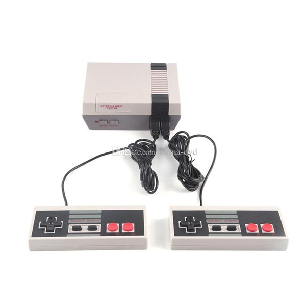 New Arrival NES Mini TV Game Console Video Handheld for NES games consoles 500 and 620 with small retail boxs free dhl