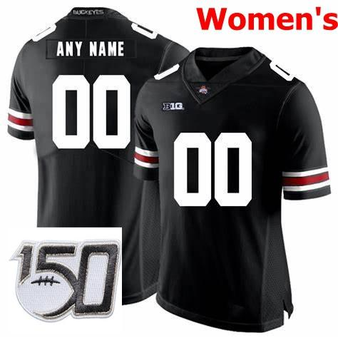 Womens Black With 150th Patch