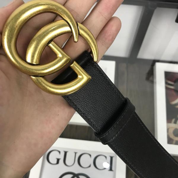 Cinturón de cuero genuino con hebilla grande grande con caja clásica cinturones hombres mujeres alta calidad nuevos cinturones para hombre Cinturón de moda Ancho 30 cm 40 cm G140-2705