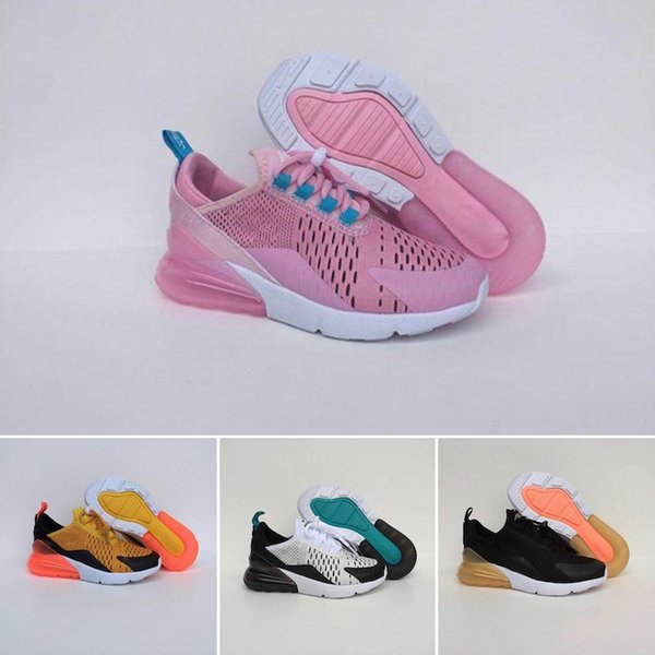 youth Running Shoes kid Sneakers off air run out door Sports shoe Trainer Air Cushion Surface size 28-35
