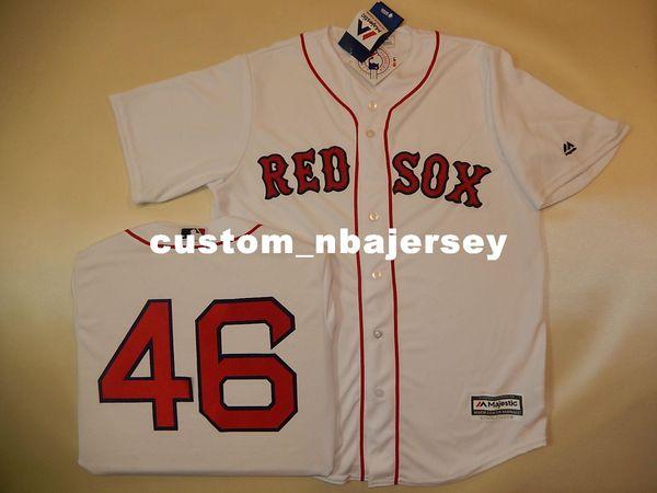 Cheap custom CRAIG KIMBREL #46 SEWN Cool Base Baseball Jersey Stitched Customize any name number MEN WOMEN BASEBALL JERSEY XS-5XL