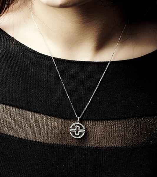 Mode runden Diamanten voller Diamanten Gold Halskette Anhänger für Frau Designer Marke Liebhaber Tag Geschenk Schmuck für Frau