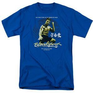 Bloodsport Movie Американская футболка с лицензионным принтом для взрослых