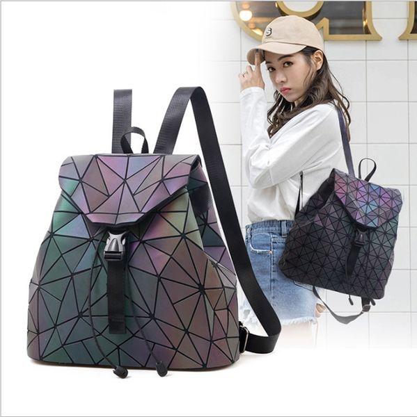2019New design lady rucksack mode damen rucksack lingge rucksack modetrend falten handtasche 4 farbe frauen tasche