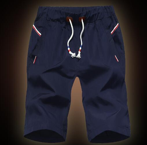 Быстро сухие твердые талии шорты средних для мужчин 2019 летних пляжных брюк тонкого спорта pantsslacks M90