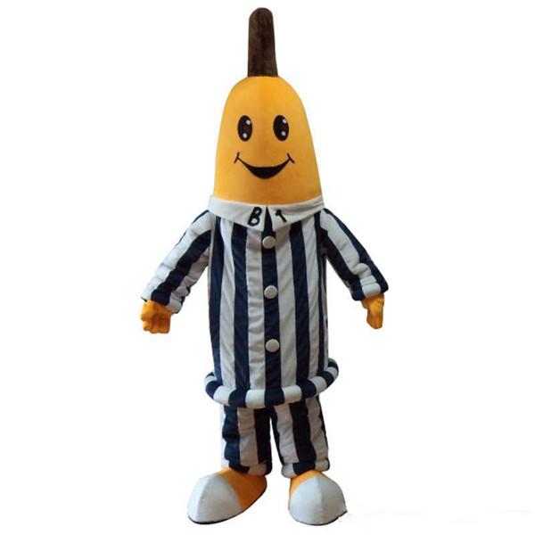 2019 Fabrika satış sıcak Pijama Pijama Maskot Kostümleri Muz kostümleri Cadılar Bayramı partisi olay için