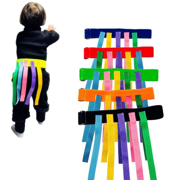 Baby Toy For Children Funny Game Toy Belt For Kindergarten Kids Catching Tail Training Equipment Teamwork Game Toys