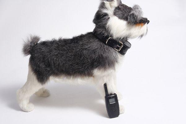 1PCS Rechargeable Dog Training Collar Dog Shock Collar for Barking Deterrents 100% Waterproof Training Collar Black